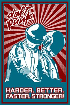 Click the Pic to win a chance to meet Daft Punk! Dj Music, Sound Of Music, Music Bands, Good Music, Music Stuff, Punk Art, Arte Punk, Rock Posters, Concert Posters
