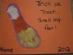 Halloween Preschool Craft/Gift
