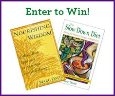 #Nutrition Lovers: Enter to #win signed copies of @TheMarcDavid's books –  http://l.inkto.it/1fuff
