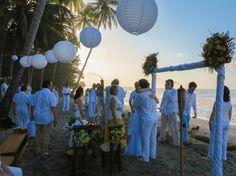 Wedding on the beach La Jorara . Santa Marta, Magdalena, Colombia