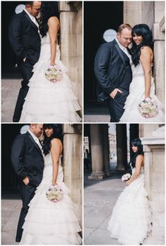 #Intimate #wedding in #Paris Couple at the Louvre talanicolephotography.com