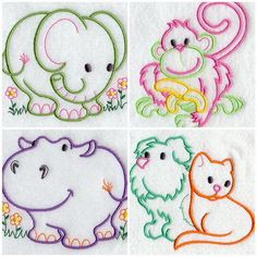 free hand embroidery child patterns | HAND MADE EMBROIDERY DESIGNS « EMBROIDERY & ORIGAMI