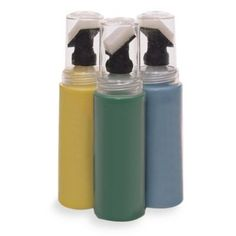 Touch-up paint bottles...great idea.