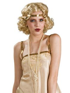 flapper costume necklace