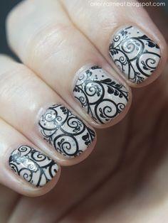 NOTD-21.07 Clarie's nail polish  BM-718