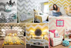 Wallpaper- Chevron Seamless Pattern Wall Decal ,  Zig Zag wall decal Pattern Wall Panel Wall Sticker  ( Regular size ) on Etsy, $60.00