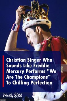 """Christian Singer Who Sounds Exactly Like Freddie Mercury Performs """"We Are The Champions"""" To Chilling Perfection Singing Lessons, Singing Tips, Music Lessons, Adele Music, Music Sing, Music Lyrics, Christian Rock Bands, Christian Singers, Unchained Melody"""