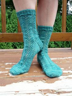 Ravelry: Creeping Kudzu Socks pattern by KnittyMelissa
