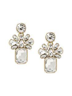 Banana Republic Silver Seas Drop Earring - Clear Crystal $39.50 - Buy it here: https://www.lookmazing.com/banana-republic-silver-seas-drop-earring-clear-crystal/products/6731640?e=1&shrid=314_pin