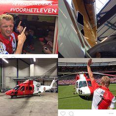 Helicopter open dag Feyenoord 2015 #helicopter #opendag #3mgraphics #feyenoord