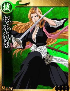 A collection of cards from Bleach Bankai Battle. Manga Anime One Piece, Anime Oc, Chica Anime Manga, Shinigami, Bleach Characters, Anime Characters, Bleach Pictures, Rangiku Matsumoto, Dragon Princess