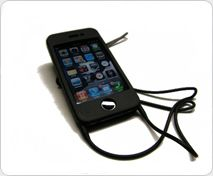 Silicone iPhone lanyard