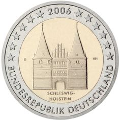 Commemorative German 2 EURO Coin Schleswig-Holstein by RamonaStore