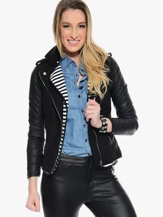 Black Ride On Moto Jacket | $12.50 | Cheap Trendy Jackets Chic Discount Fashion for Women | ModDeal