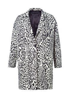 PRINTED SHORT COAT - Blazers - Woman - ZARA Slovenia