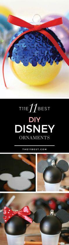 DIY Disney Ornaments
