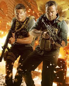 Strike Back - Michael Stonebridge and Damian Scott played by Philip Winchester and Sullivan Stapleton