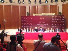 #ScalAstana #DonQuixote - 30/06/2014 - Press conference www.teatroallascala.org/en/season/tours/2013-2014/kazakistan/don-quixote.html