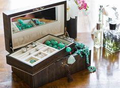 iWoodesign, Jewellery Box - Smoked Oak, Buy Online at LuxDeco