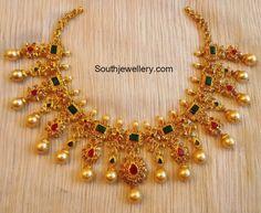 Uncut Diamond Necklace photo
