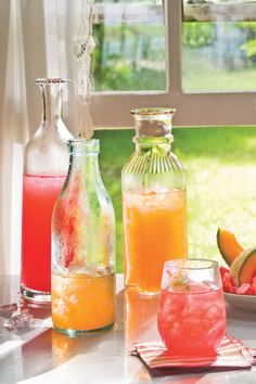 Watermelon Agua Frescas - 2009 Editors' Favorite Recipes - Southernliving. Melons are at their most flavorful this time of year so chill out with this summer refresher.  Recipe:Watermelon Agua Frescas