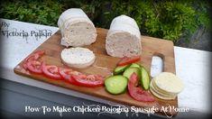 How To Make Chicken Bologna Sausage At Home Sugar Free Recipes, Gluten Free Recipes, Maxwell Street Polish, Rice And Gravy, Vienna Sausage, Spanish Rice, Sausage Breakfast, Great Recipes, Food To Make