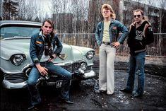 Kustom, Historian, Finland, Nostalgia, Bomber Jacket, Band, Retro, Cool Stuff, Fictional Characters