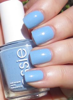 Essie Rock the Boat - light blue with a muted shimmer