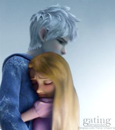 Jack Frost/Rapunzel - disney-crossover Photo~ OMYGOSH! Ok idk about yiu but I totally ship them!