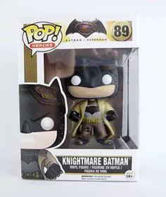 Funko Pop Batman vs Superman. Knightmare Batman