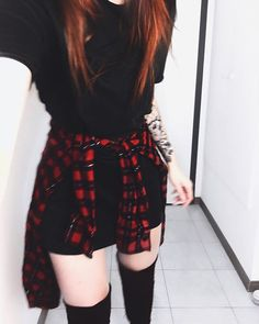 Clothes for teens punk outfit Trendy ideas Punk Outfits, Grunge Outfits, Grunge Fashion, Outfits For Teens, Trendy Fashion, Casual Outfits, Girl Outfits, Fashion Outfits, Fashion Trends