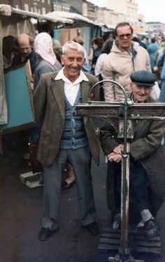 Remember the weighing machine man in the middle of Stockton market? River Tees, Stockton On Tees, Middlesbrough, Cumbria, North Yorkshire, Durham, Roots, Nostalgia, Archive