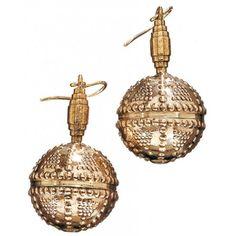 Halikon kääty Decorative Bells, Finland, Bronze, Jewels, Holiday Decor, Earrings, Design, Bling Bling, Eyeglasses