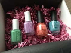 The Nail Collection Subscription Box Review - A New Monthly Nail Polish Box!