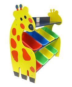 Look what I found on #zulily! Giraffe Toy Organizer by DIY KIDS #zulilyfinds