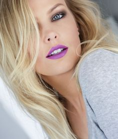 Purple Lipstick - Mac Heroine this is the next lipstick I WANT! ~Deanna D.