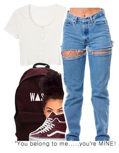"""""""10.29"""" by trinityannetrinity ❤ liked on Polyvore featuring Quinny and Vans"""