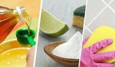 ¿Las juntas de tus azulejos lucen sucias? No dejes de probar estos remedios naturales para dejarlas como nuevas.