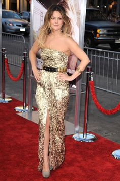 Drew Barrymore's Red Carpet Evolution - 2010