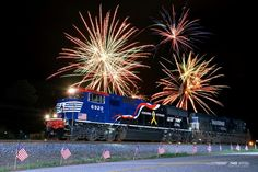 Norfolk Southern 4th of of July Fireworks