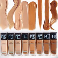 We all know that an almost match is a no-no. So we heard you and added 8 new shades to our #FitMe! Matte + Poreless lineup to match your skin tone perfectly. Maybelline has foundation for all skin tones. Click to find your match.