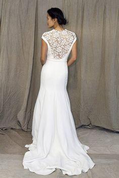 wedding dress (back)- very cool