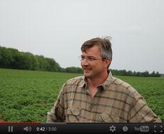 Découvrez le portrait vidéo de Marc-Antoine, producteur de la pomme de terre Pompadour Label Rouge