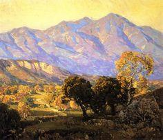 Plein Air Painting by Western American Artist Frank