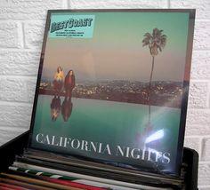 #BESTCOAST #CaliforniaNights #vinyl #records #WildHoneyRecords