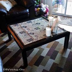 DIY+Upcycled+Coffee+Table