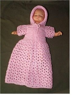Free crochet doll patterns here is an easy pattern for baby doll dress pattern.