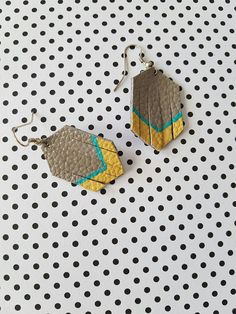 These beautiful and fun fringe earrings are made with genuine leather. These earrings are very lightweight, with a fish hook attachment and measure 1 inch by inch Custom size and colors are available upon request. Leather Fringe, Fringe Earrings, My Etsy Shop, Check, Handmade, Stuff To Buy, Color, Jewelry, Hand Made