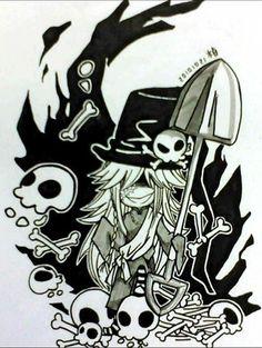 Chibi Undertaker (Black Butler)