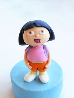 Dora the Explorer Step-by-Step Tutorial for Polymer Clay, Fondant or Sugarpaste